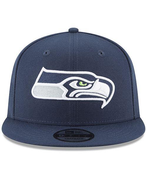 New Era Seattle Seahawks Anniversary Patch 9FIFTY Snapback Cap - Sports Fan  Shop By Lids - Men - Macy s 8555ca06c1dc