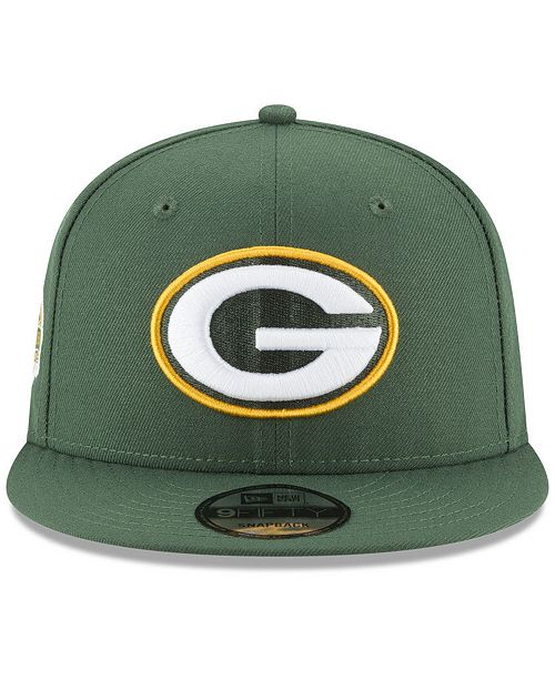 info for 6a8fd 9259e ... where can i buy new era green bay packers anniversary patch 9fifty  snapback cap 46e4f 21d13