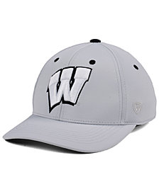 Top of the World Wisconsin Badgers Grype Stretch Cap