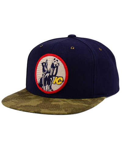 CCM Kansas City Scouts Fashion Camo Snapback Cap