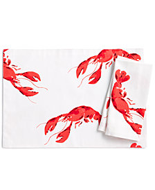 kate spade new york Lobster Fete Napkin