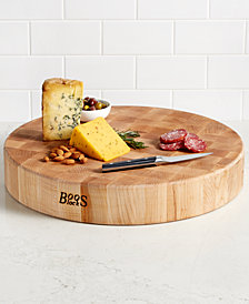 John Boos Round Maple Cutting Board