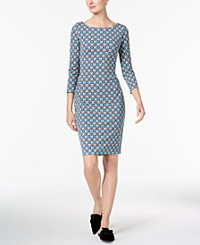 Weekend Max Mara Aprilia Printed Tie-Wrap Dress