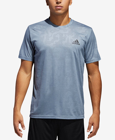 adidas Men's Camo-Print ClimaLite® T-Shirt