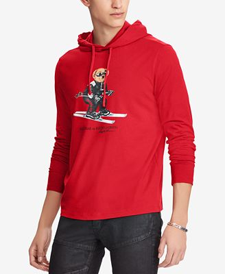 Polo Ralph Lauren Men's Polo Bear Ski Hoodie