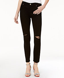 I.N.C. Ripped Skinny Jeans, Created for Macy's