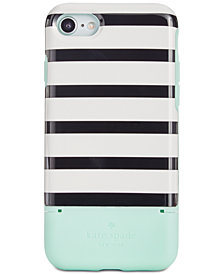 kate spade new york Stripe Credit Card iPhone 7/8 Case