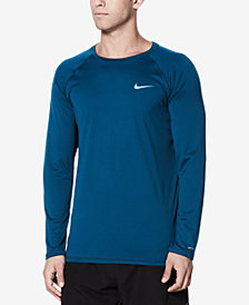 Nike Men's Long-Sleeve Hydroguard T-Shirt