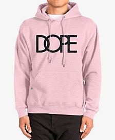 DOPE Men's Graphic-Print Logo Hoodie