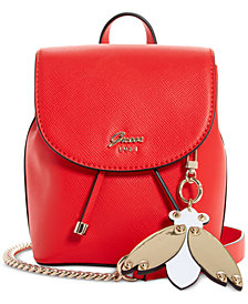 GUESS Varsity Pop Mini Pin Up Convertible Backpack
