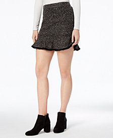 Mare Mare Parker Frayed Tweed Mini Skirt