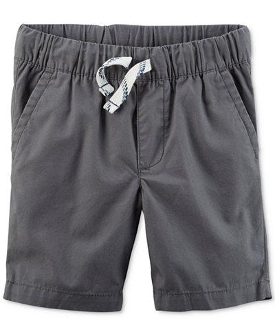 Carter's Little Boys Woven Cotton Shorts