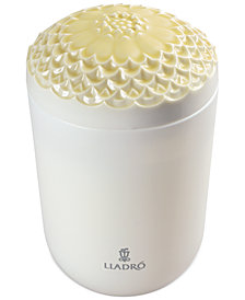 Lladró Echoes of Nature Tropical Blossoms Candle