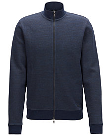 BOSS Men's Full-Zip Stretch Jacket