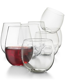 CLOSEOUT! Hotel Collection Stemless 8-Pc. Value Set, Created for Macy's