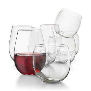 Deals on Hotel Collection 8-Pc Stemless Wine Glasses Set