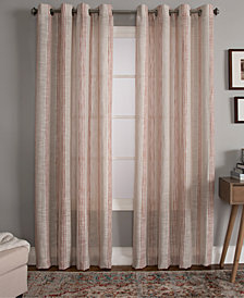 "Miller Curtains Bazille 50"" x 63"" Stripe Window Panel"