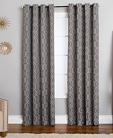 Miller Curtains Morrisot Geometric Window Panels