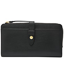 Fiona Leather Tab Wallet
