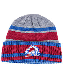 adidas Colorado Avalanche Heathered Grey Beanie