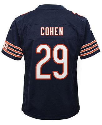 free shipping 97f30 79dbb Nike Tarik Cohen Chicago Bears Game Jersey, Big Boys (8-20 ...