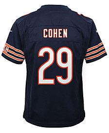 Nike Tarik Cohen Chicago Bears Game Jersey, Big Boys (8-20)