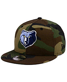 New Era Boys' Memphis Grizzlies Woodland Team 9FIFTY Snapback Cap