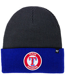 '47 Brand Texas Rangers Ice Block Cuff Knit Hat