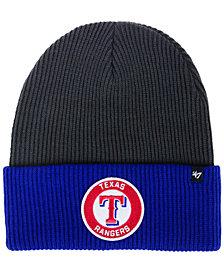 '47 Brand Texas Rangers Ice Block Cuff Knit Hat