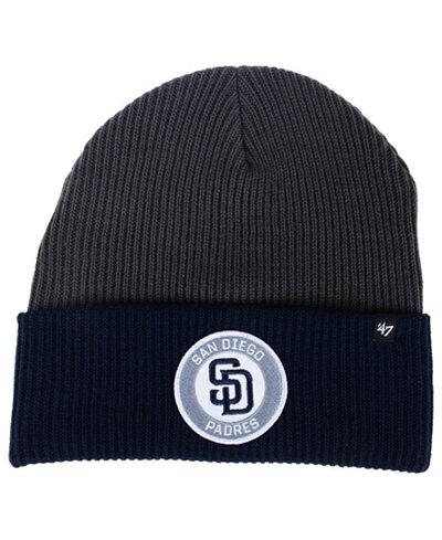 '47 Brand San Diego Padres Ice Block Cuff Knit Hat