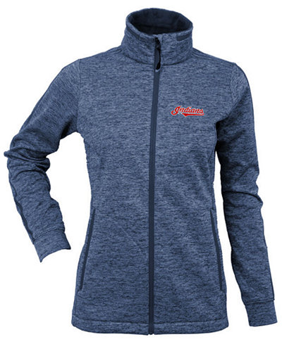Antigua Women's Cleveland Indians Golf Jacket
