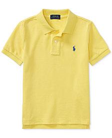 Ralph Lauren Mesh Cotton Polo, Toddler Boys