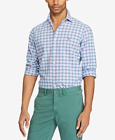 Polo Ralph Lauren Men's Big & Tall Plaid Shirt