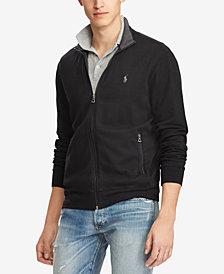 Polo Ralph Lauren Men's Luxury Half-Zip Sweater