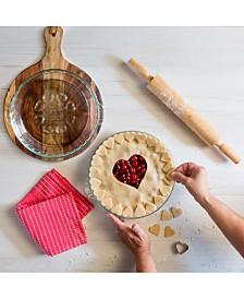 "Pyrex Love 9.5"" Pie Plate"