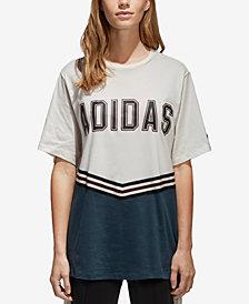 adidas Originals Cotton Relaxed Collegiate T-Shirt