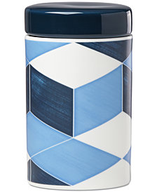 Lenox Luca Blue Azzurro Large Canister
