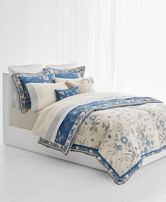 ralph lauren duvet cover Lauren Ralph Lauren Josephina Cotton Sateen 300 Thread Count  ralph lauren duvet cover