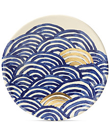 Lenox-Wainwright Pompeii Blu Sea Salad Plate, Created for Macy's