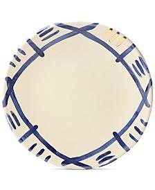 Lenox-Wainwright Pompeii Blu Sky Dinner Plate, Created for Macy's