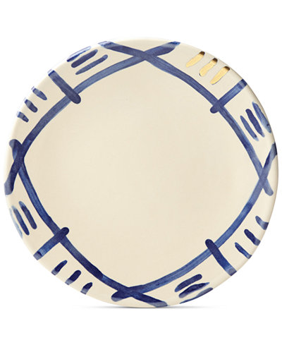 Crafted by Wainwright Pompeii Blu Sky Dinner Plate, Created for Macy's