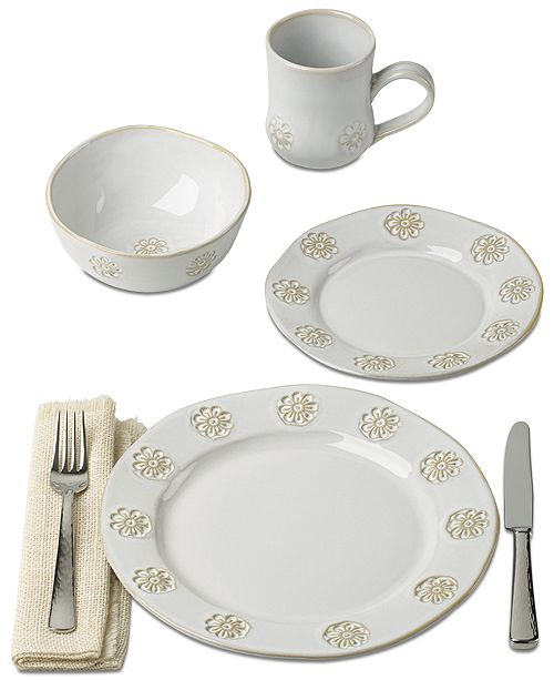 Tremendous Lenox Wainwright Boho Garden Dinnerware Collection Created For Macys Download Free Architecture Designs Lukepmadebymaigaardcom