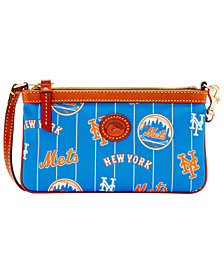 Dooney & Bourke New York Mets Nylon Wristlet
