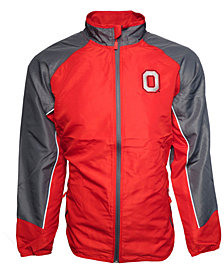 J America Men's Ohio State Buckeyes Quarterback Full-Zip Jacket
