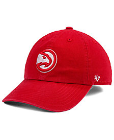 '47 Brand Boys' Atlanta Hawks CLEAN UP Cap