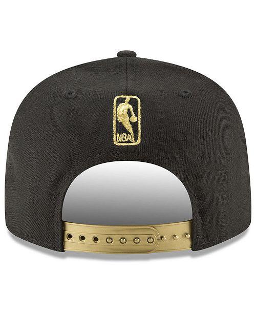 premium selection 0a2d6 cd21b New Era Chicago Bulls Gold Mark 9FIFTY Snapback Cap ...