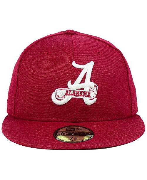 New Era Alabama Crimson Tide Vault 59FIFTY Fitted Cap - Sports Fan Shop By  Lids - Men - Macy s 873d78102