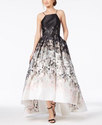Betsy Adam Ombre Halter Dress