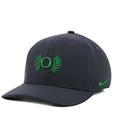 Nike Oregon Ducks Anthracite Classic Swoosh Cap