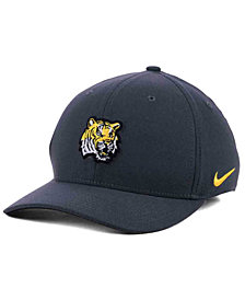 Nike LSU Tigers Anthracite Classic Swoosh Cap